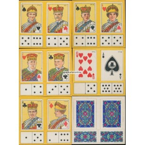 Cards and Dominoes (WK 14400)