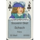 Schach Souvenir Skat (WK 15549)