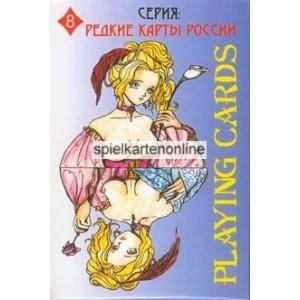 Playing cards Stupakova (WK 13183)