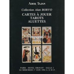 Cartes à Jouer Tarots Aluettes Collection Alan Borvo (WK 100490)