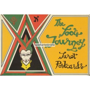The Fool's Journey Tarot Postcards (WK 100158)
