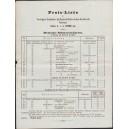 Preisliste VSS Stralsund Deutsche Schwerterkarten (WK 100855)