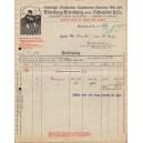Rechnung VSS Abteilung Altenburg vorm. Schneider & Co 1915 (WK 100843)