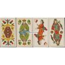 Sächsisches Doppelbild VASS 1940 Blindenkarte (WK 15615)
