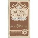 Bayerisches Doppelbild VASS 1950 Kurze Scharfe (15613)