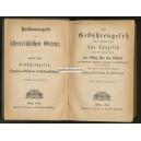 Gebührengesetz 1850 Taxgesetz 1840 Gesetz Stämpel (WK 100934)