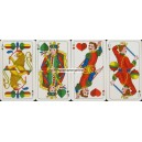 Fränkisches Doppelbild Bielefelder Spielkarten Nr. 42 (WK 14869)