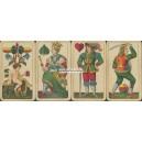 Bayerisches Bild Schneider 1892 Wahrsagekarte (WK 14891)