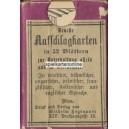 Aufschlagkarte Hegenauer 1890 (WK 15878)