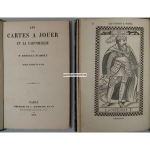Les cartes a jouer et la cartomancie Paul Boiteau (WK 101138)