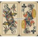 Industrie und Glück Tarot Piatnik 1890 Bismarck Blut und Eisen (WK 16156)
