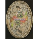 Neue Ovale Salonspielkarte (WK 16147)