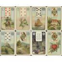 Lenormand VSS Abt Altenburg 1923 Wahrsagespiel mit Kartenbildern (WK 16428)