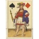 Erotisches Kartenspiel des Biedermeier (WK 16522)