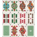 Neue Altenburger Spielkarte II VEB 1966 Skat 100 (WK 10393)