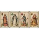 Neue Deutsche Spielkarte Reformkarte mit Damen (WK 16592)