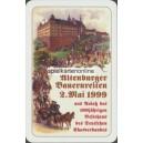 Sächsisches Bild Spielkartenfabrik Altenburg 1999 Altenburger Bauernreiten (WK 16261)