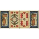 Sächsisches Doppelbild Scharff 1931 Harburger Mühlenbetrieb (WK 15892)