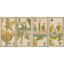 Tarot Allemand à 2 têtes - Tarot Chinois (WK 16618)