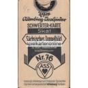 Sächsisches Doppelbild VASS 1933 Skat No. 76 (WK 13626)