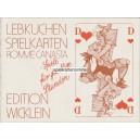 Lebkuchen Spielkarten (WK 16417)
