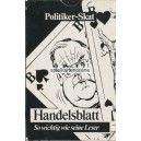 Politiker Skat Var. 2 Handelsblatt (WK 16733)
