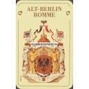 Alt-Berlin Rommé roter Bär (WK 16789)