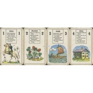 Lenormand Wahrsagekarten Schmid 1935 (WK 16844)