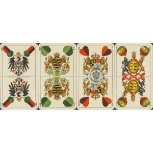 Deutsche Kriegs-Spielkarte (WK 16885)