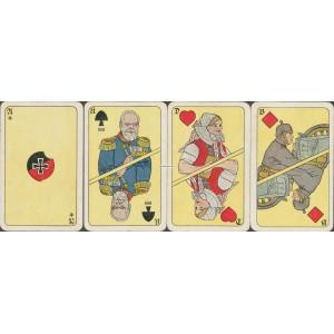 Vaterländische Spielkarte (WK 16888)