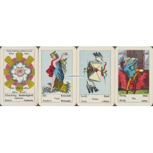 Aufschlagkarte Piatnik Wien 1930 (WK 16906)
