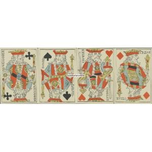 Portrait Deux Têtes / Rouen - Poker (WK 16834)