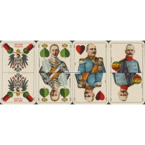 Deutsche Kriegs-Spielkarte 400 - 499 Tausend (WK 16929)