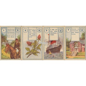 The Gypsy Bijou Fortune Telling Cards - Lenormand (WK 17016)