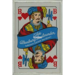 Altenburger-Stralsunder Spielkarten Leuchtreklame (WK 101030)