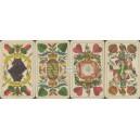 Sächsisches Doppelbild Bechstein 1885 Illustrierte Zahlkarten (WK 17035)