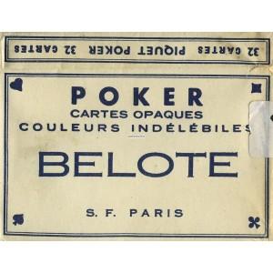 Portrait Officiel - S. F. - 1960 Poker Belote (WK 10429)