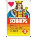 Wiener Bild Berliner Spielkarten 1985 Schnaps Rekord (WK 15283)