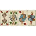 Deutsche Kriegs-Spielkarte (WK 14756)