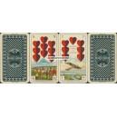 Deutsche Kriegs-Spielkarte (WK 14815)