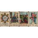 Aufschlagkarte Piatnik Praha 1927 - 1940 (WK 14455)