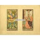 Tarot des imagiers du moyen age Oswald Wirth (WK 13683)
