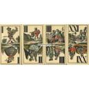 Industrie und Glück Tarot Titze & Schinkay 1890 (WK 13739)