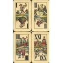 Industrie und Glück Tarot Modiano 1910 (WK 13747)