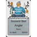 Souvenir-Skat Angler (WK 15412)