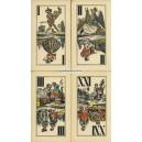 Industrie und Glück Tarot Piatnik 1900 (WK 13864)
