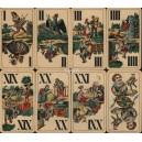 Industrie und Glück Tarot VASS 1940 Tarok Nr. 83 (WK 14552)