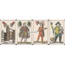 Kartenspiel mit Schlesischem Bild (WK 15471)