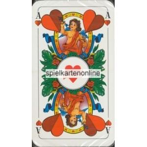 Bayerisches Doppelbild Bielefelder Spielkarten 1972 Celamerck Aniten (WK 15610)