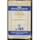 Industrie und Glück Tarot VASS 1940 Tarok Nr. 183 (WK 15644)